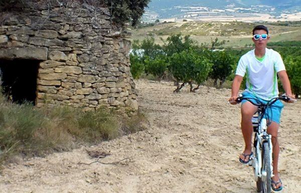 Ruta en bici y BTT en Rioja Alavesa