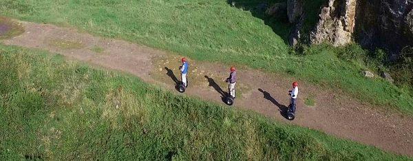 Rutas slidebot en Rioja Alavesa