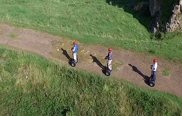 Ruta slidebot en Rioja Alavesa (tipo Segway)