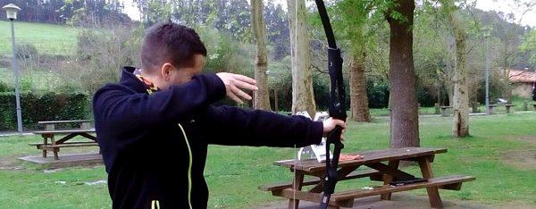 tiro con arco en Rioja Alavesa